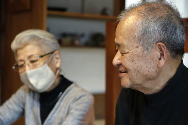 展覧会について振り返る山田さんと伊藤さん