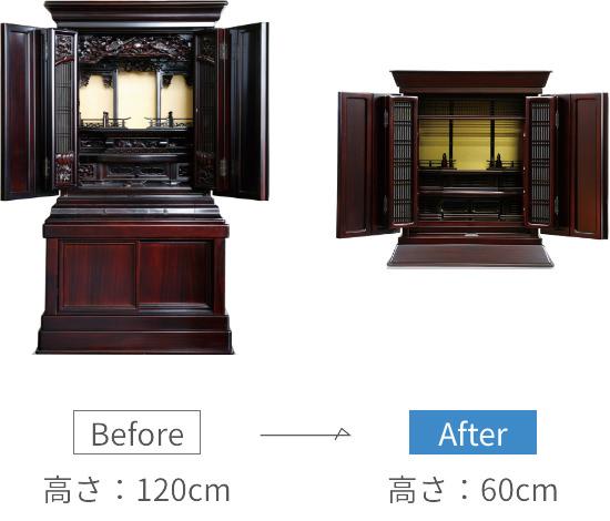 仏壇のリメイク